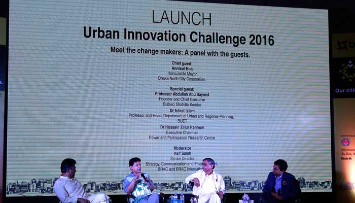 BRAC launches the Urban Innovation Challenge