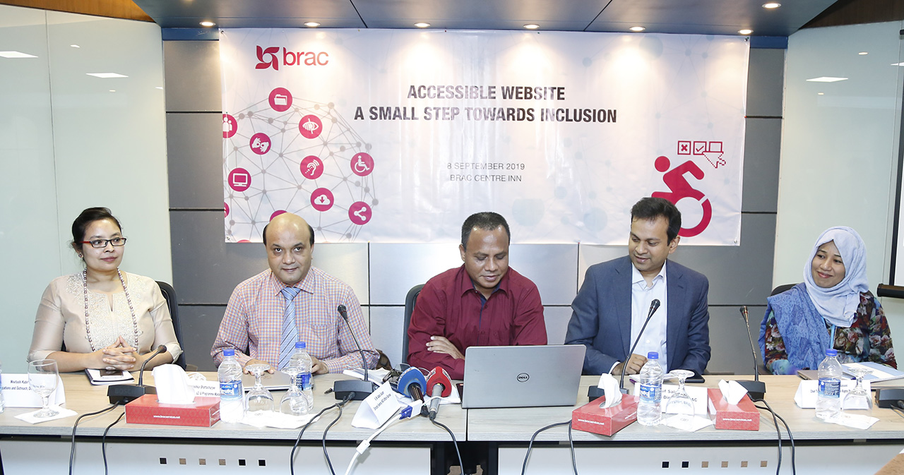 BRAC launches user-friendly website for persons with disabilities