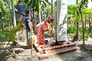 Thubmnail image: BRAC and Dutch Villagepump partnering for clean drinking water in Cox's Bazar