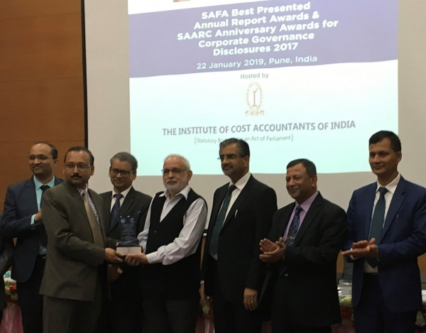 BRAC wins prestigious SAFA Award for best presented annual report