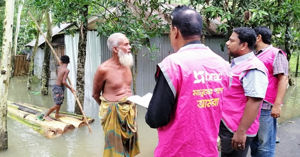 BRAC allocates a further BDT 3.5 crore for flood relief