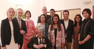 BRAC Founder Fazle Hasan Abed  Honoured with Dutch Knighthood