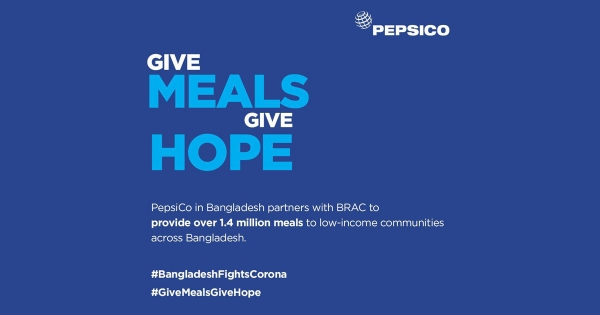 BRAC partners with PepsiCo to provide over 1.4M meals to underserved families