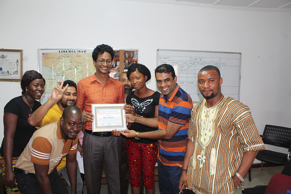 Liberia-awarded-Outstanding-International-NGO