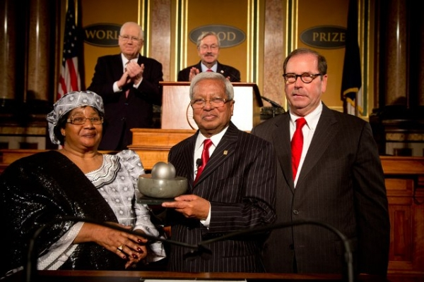 Sir Fazle Hasan Abed has been honoured as the 2015 World Food Prize Laureate